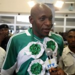 Nigerians Welcome SUPER EAGLES