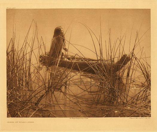 Edward S. Curtis - Aged Pomo woman. 1924.