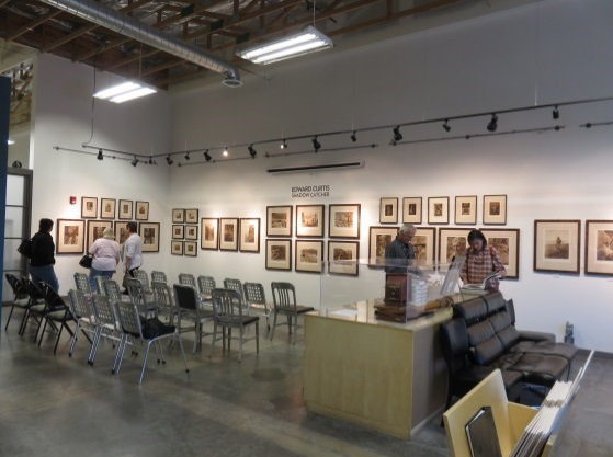 Curtis Exhibit at Atelier 6000 Studio and Gallery