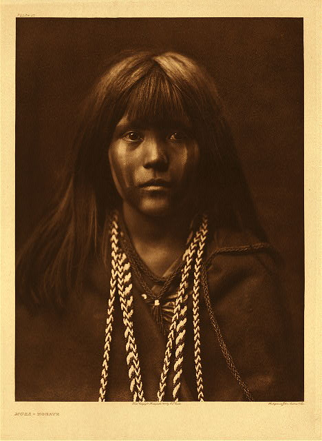 Mosa - Mohave by Edward S. Curtis. 1903.