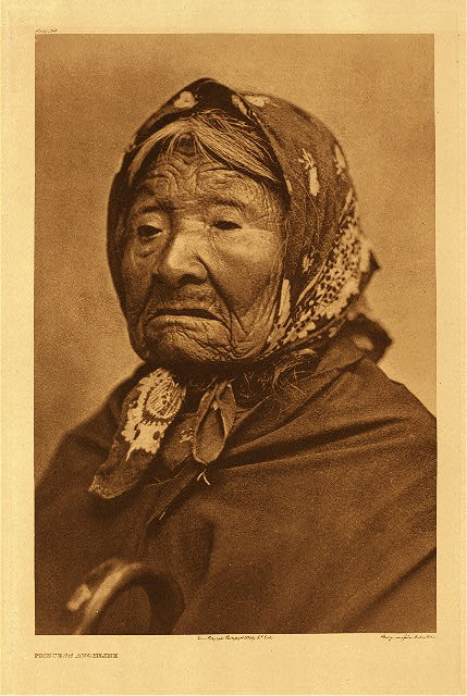 Princess Angeline by Edward S. Curtis. 1899.