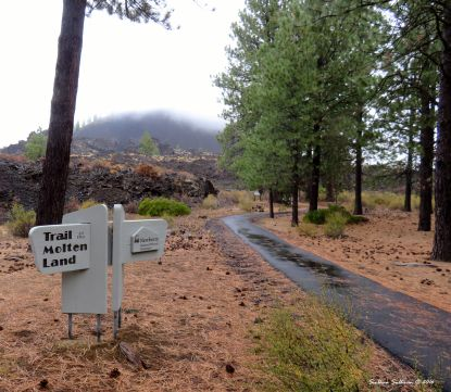 Trailhead for Trail of the Molten Land