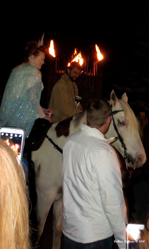 Oregon Winterfest Fire King & Ice Queen