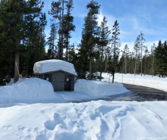 Swampy Lakes Sno-Park, Bend, Oregon 14Feb2017