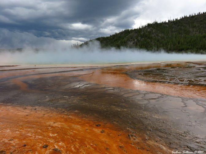 Grand Prismatic Spring, Yellowstone National Park 5June2015