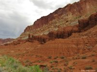 Moenkopi Formation at Capitol Reef National Park, Utah 5May2017