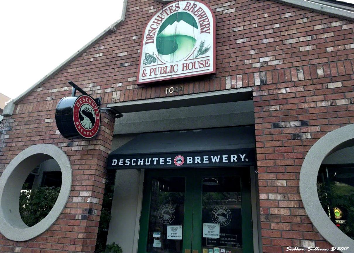 Deschutes Brewery & Public House, Bend Oregon 1September2017