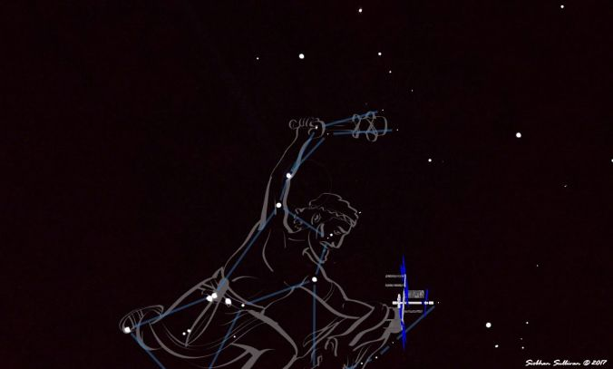 Orion constellation about to smash the International Space Station 16November2017
