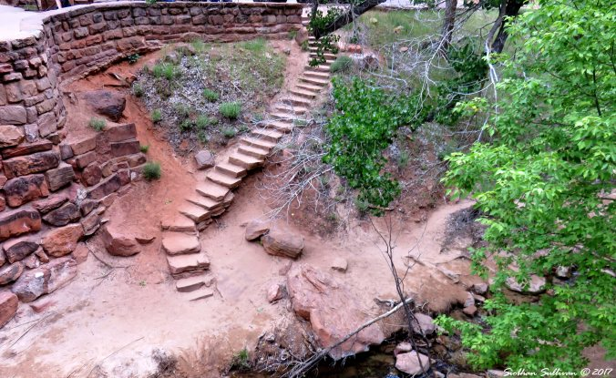 Stone Steps Zion NPK, Utah 7May2017