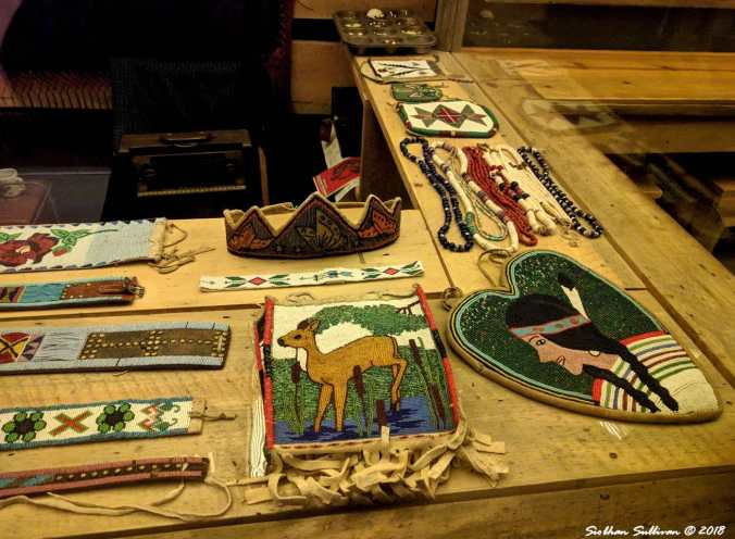 Beautiful Beadwork at the High Desert Museum 25February2018