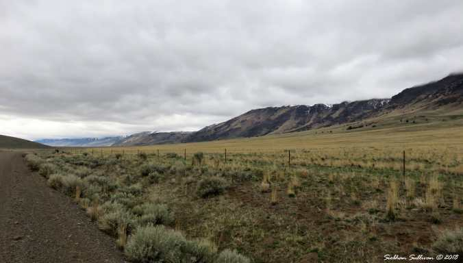 Steens mountain tour, views of the east side of Steens Mountain, Oregon 6April2018