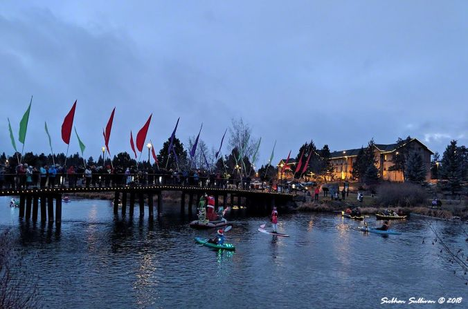 Paddle Parade, Bend, Oregon 14December2018