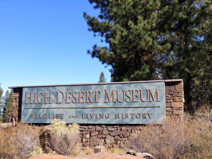 High Desert Museum newsletter, High Desert Museum entrance