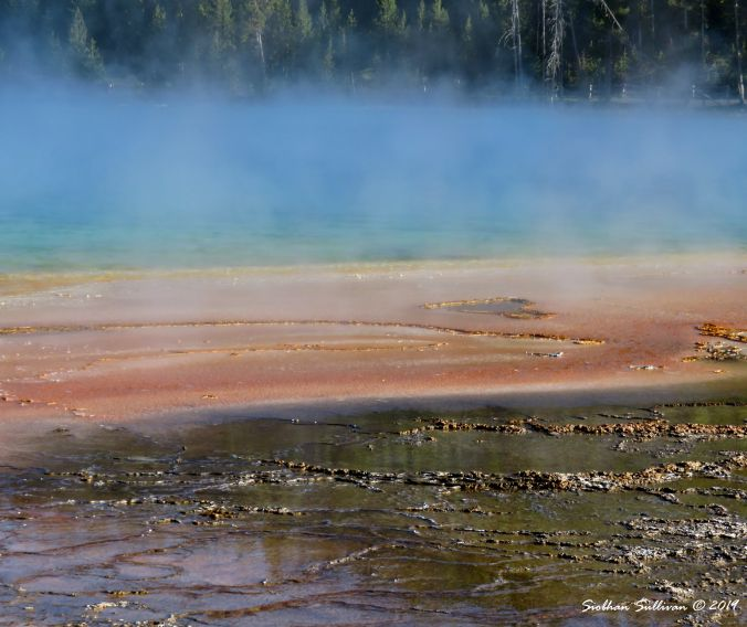 Close-up Grand Prismatic Yellowstone National Park 3June2018