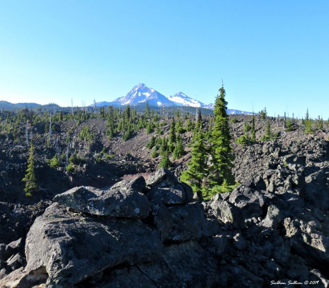 The Sisters from McKenzie Pass, wild Oregon 1August2016