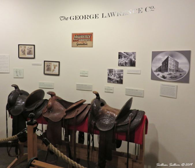 Saddles from the George Lawrence Co., The Dalles, Oregon 16October2017