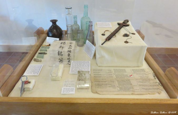 Chinatown excavation project artifacts, The Dalles, Oregon 16October2017