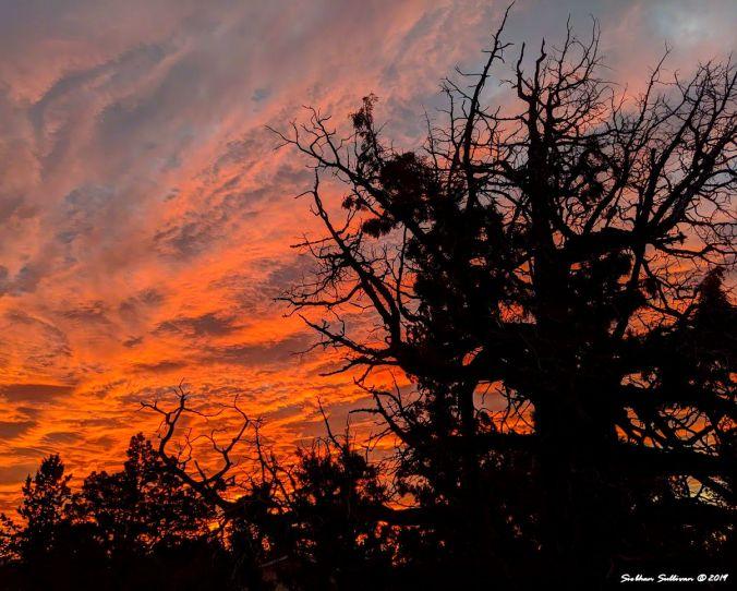 Sunrise in Bend, Oregon October 2019