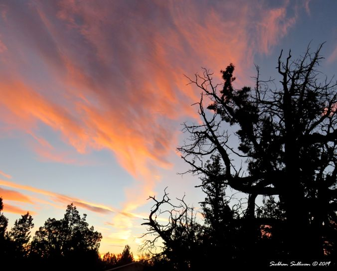 Colorful sunrise over Bend, Oregon 15October2015