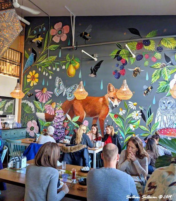 Sweet spot. Foxtail Bakeshop, Bend, Oregon. February 2020