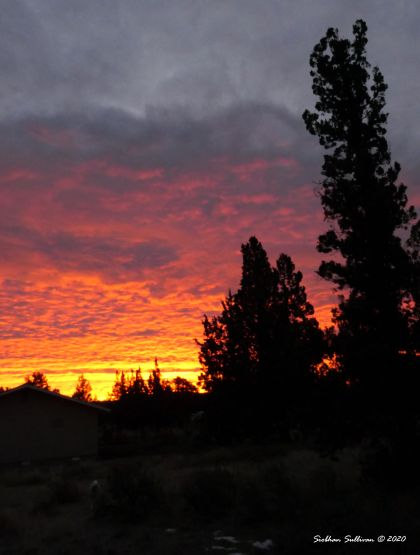 Sunrise over my sanctuary Bend, Oregon 2019