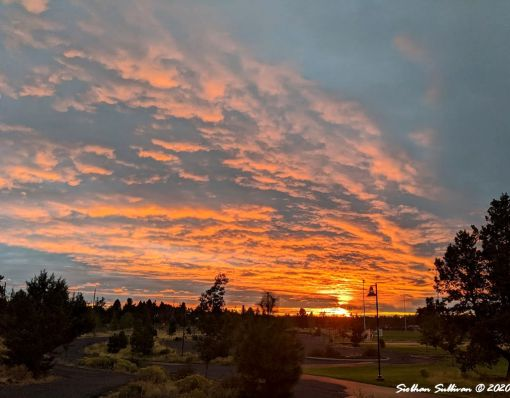 Sunrise in Bend, Oregon Sept 2020