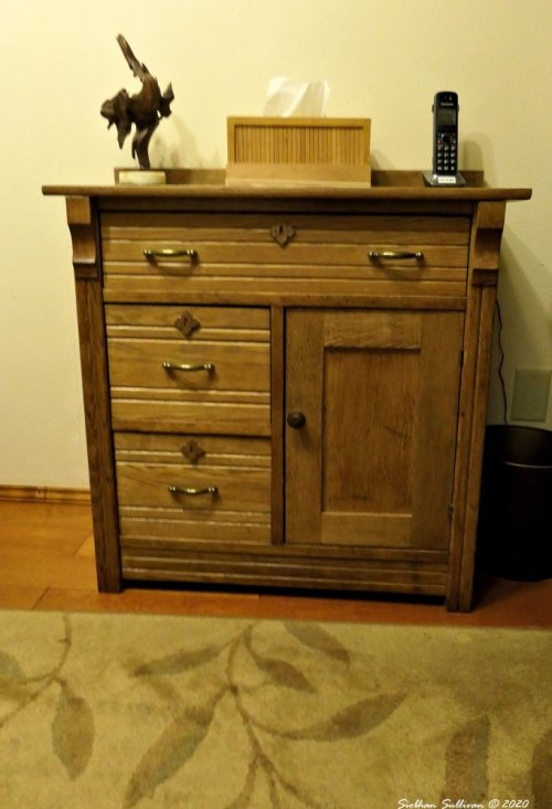 Refinished commode