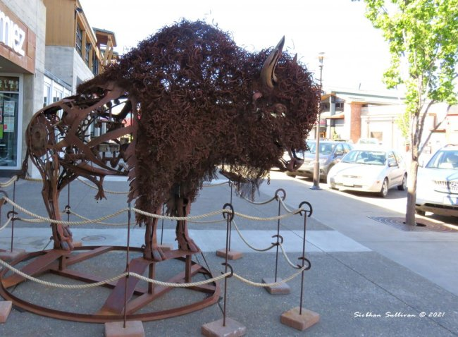 Sculpture in Bend, Oregon