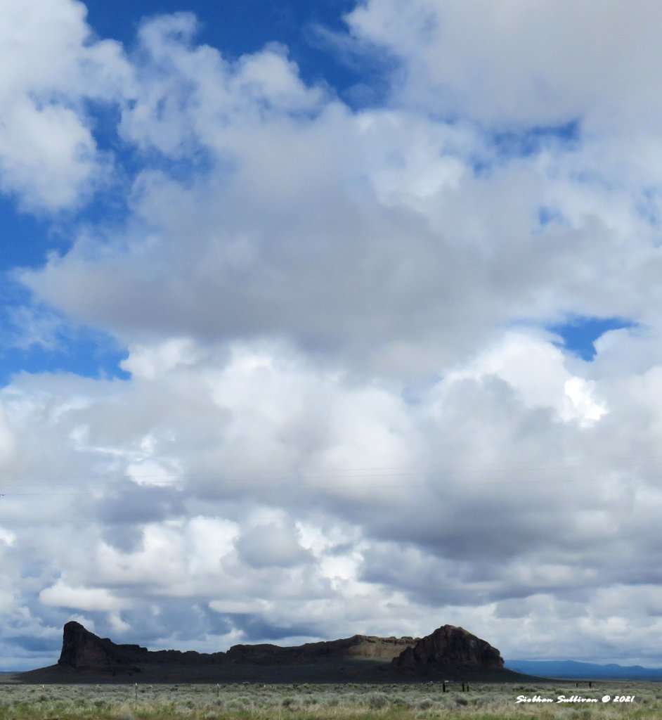 Softness in the skies Clouds of Fort Rock