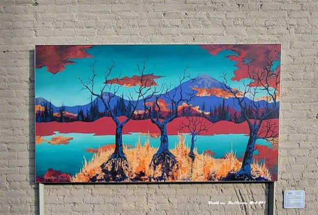 Alley Art - Dawn of a New Day by Megan Phallon
