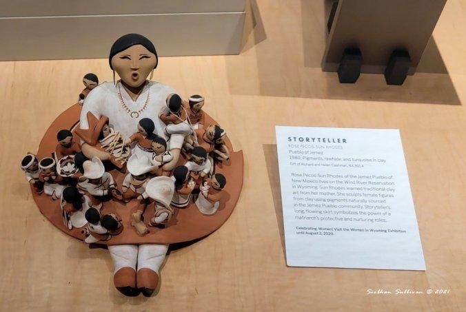 Storyteller sculpture