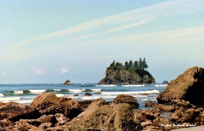 Pretty as a picture at Ruby Beach, Washington