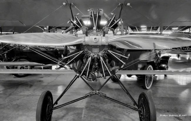 nose to nose with biplane