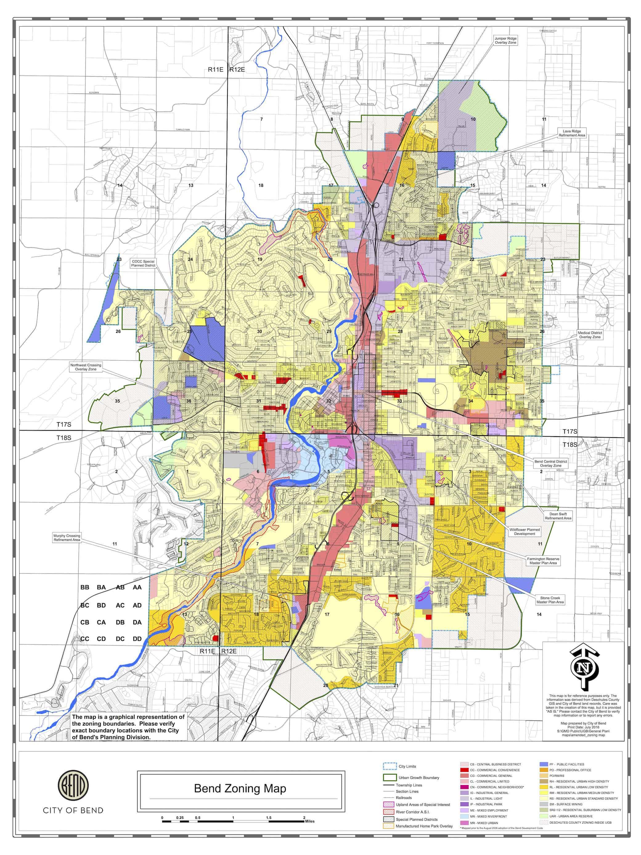 Bend Oregon Zip Code Map : oregon, Oregon, World, Atlas