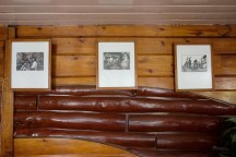 Photographs hanging are by Mr. Tommy Hafalla