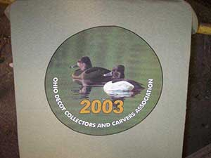 Ohio Decoy Collectors and Carvers Association - Screen Printing samples