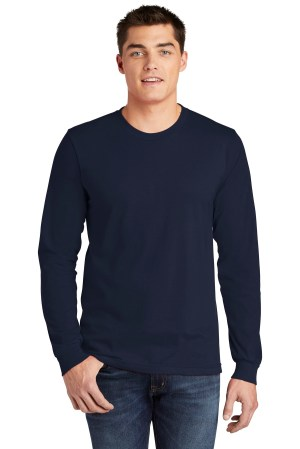 American Apparel  Fine Jersey Long Sleeve T-Shirt. 2007W