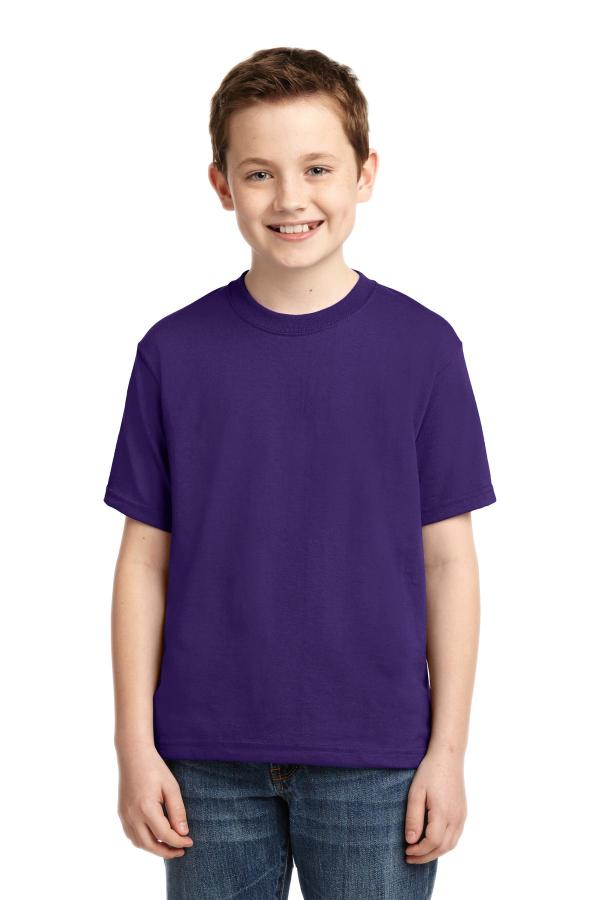 JERZEES - Youth Dri-Power Active 50/50 Cotton/Poly T-Shirt.  29B