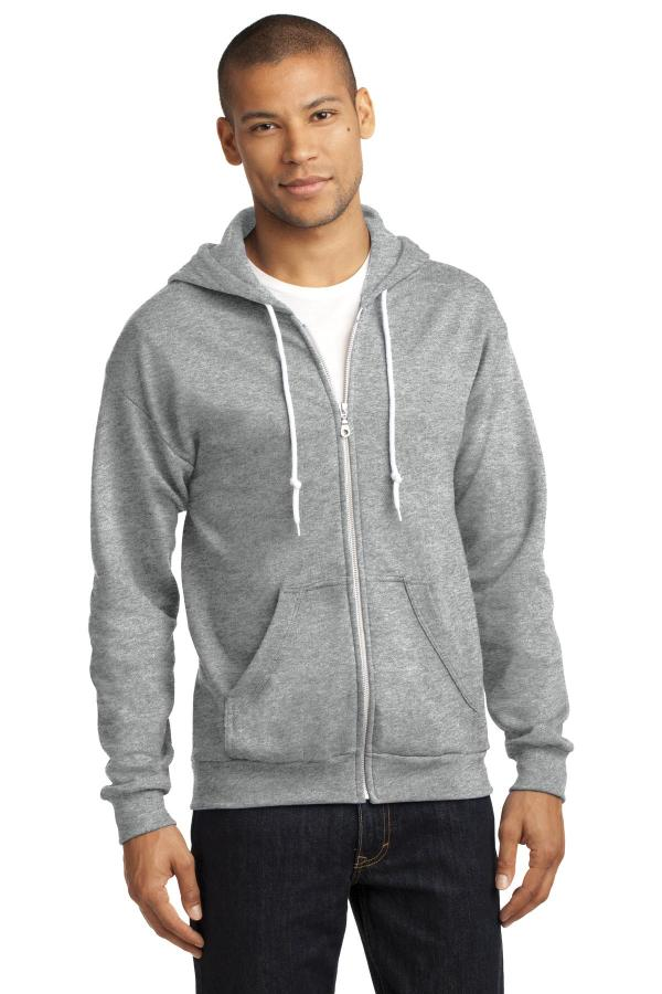 Anvil Full-Zip Hooded Sweatshirt. 71600