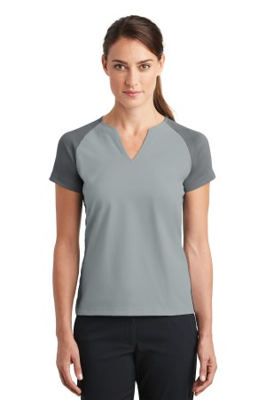 Nike Ladies Dri-FIT Stretch Woven V-Neck Top. 838960