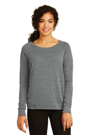 Alternative Women's Eco-Jersey Slouchy Pullover. AA1990