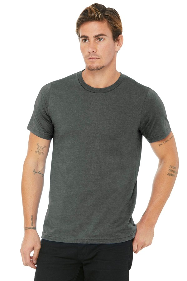 BELLA+CANVAS  Unisex Made In The USA Jersey Short Sleeve Tee. BC3001U