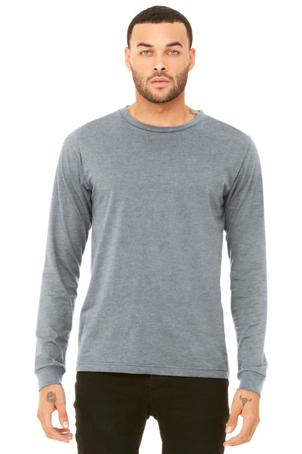 BELLA+CANVAS  Unisex Jersey Long Sleeve Tee. BC3501