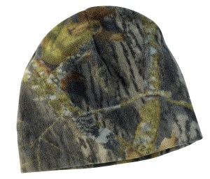Port Authority Camouflage Fleece Beanie. C901