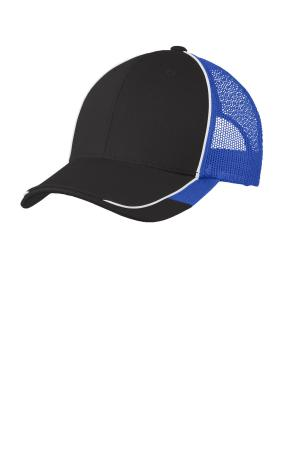 Port Authority Colorblock Mesh Back Cap. C904