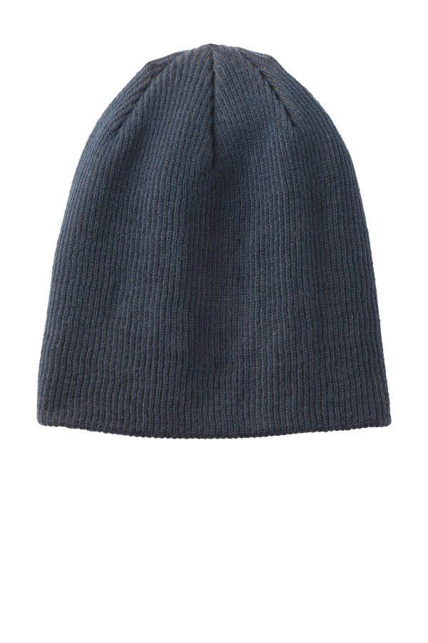 Port Authority Rib Knit Slouch Beanie. C935