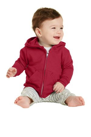Port & Company Infant Core Fleece Full-Zip Hooded Sweatshirt. CAR78IZH