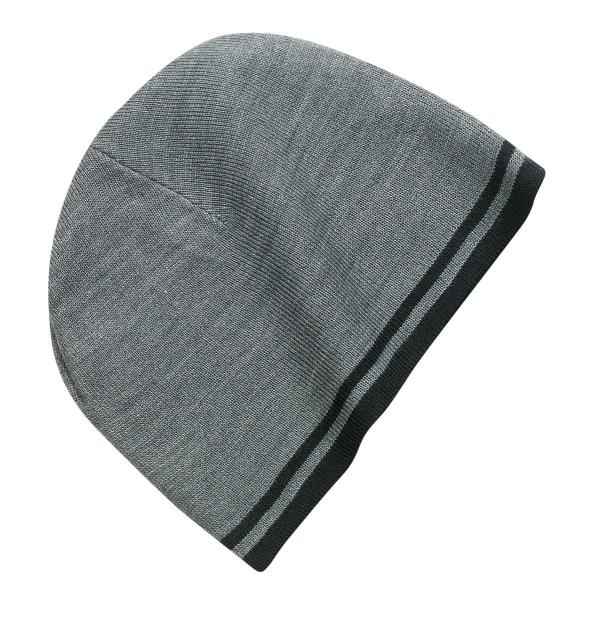 Port & Company - Fine Knit Skull Cap with Stripes.   CP93