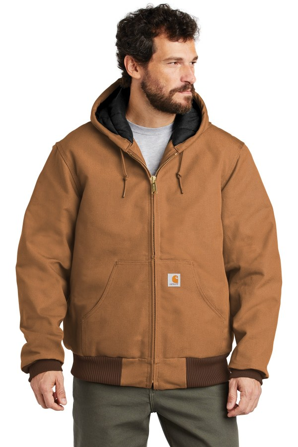 Carhartt  Quilted-Flannel-Lined Duck Active Jac. CTSJ140