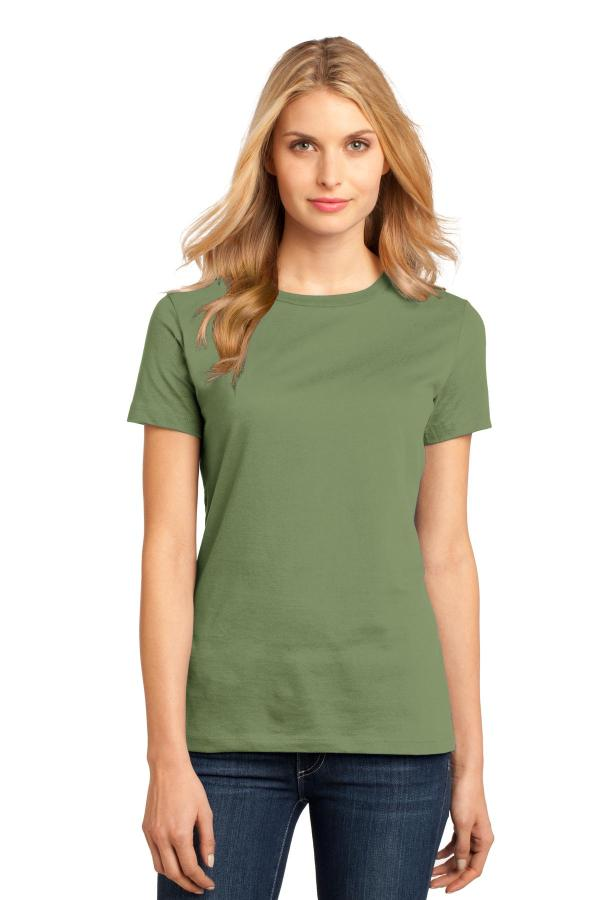 District Women's Perfect WeightTee. DM104L